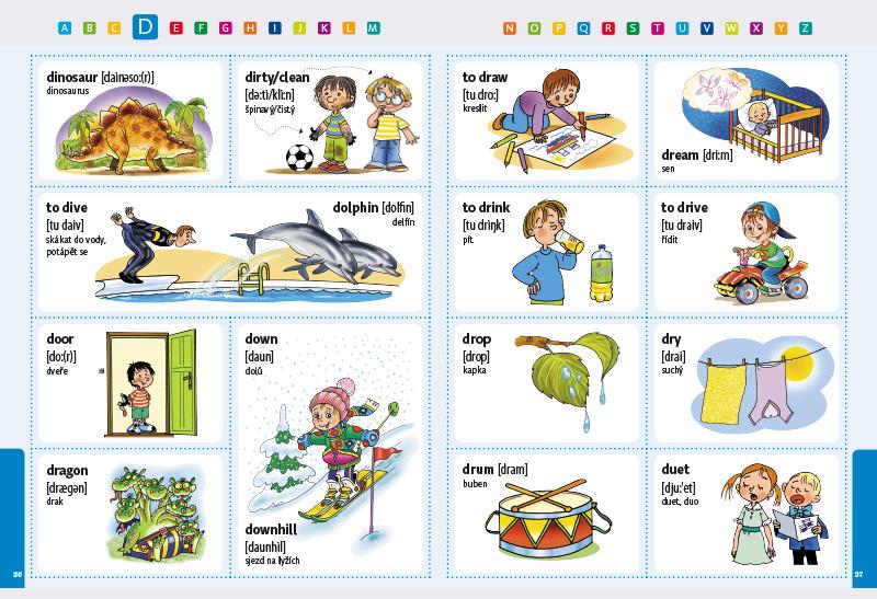 B4U Publishing – Albatros Media » My First Illustrated English