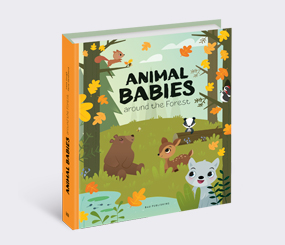 Animal Babies around the Forest