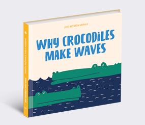 Why Crocodiles Make Waves: Love between Animals