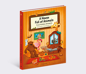 A House Full of Animals: Find Hidden Animals