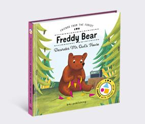 Freddy Bear Decorates Mr Owl's House