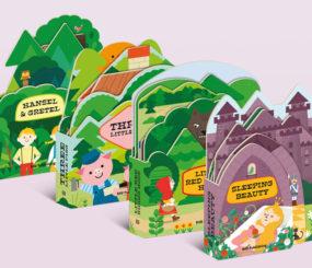 Fairy Tale Shape Books