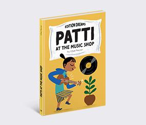 Patti at the Music Shop